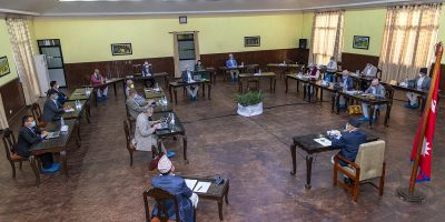 Cabinet Meeting of Nepal